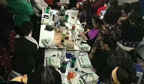 常青树   政府补贴 免费培训   化妆美甲半永久纹绣创业班