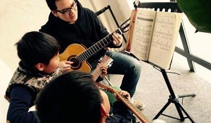 4节吉他课只要168元,星萌主琴行喊你弹琴咯!