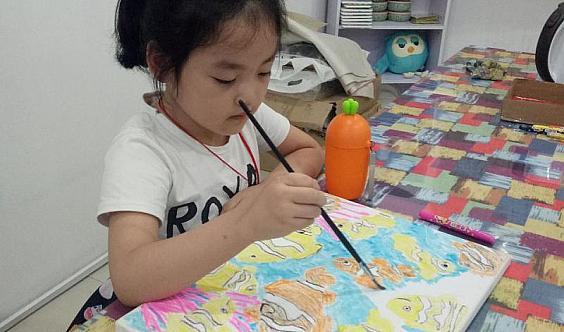 艺加美术2018春季试听课开始了。