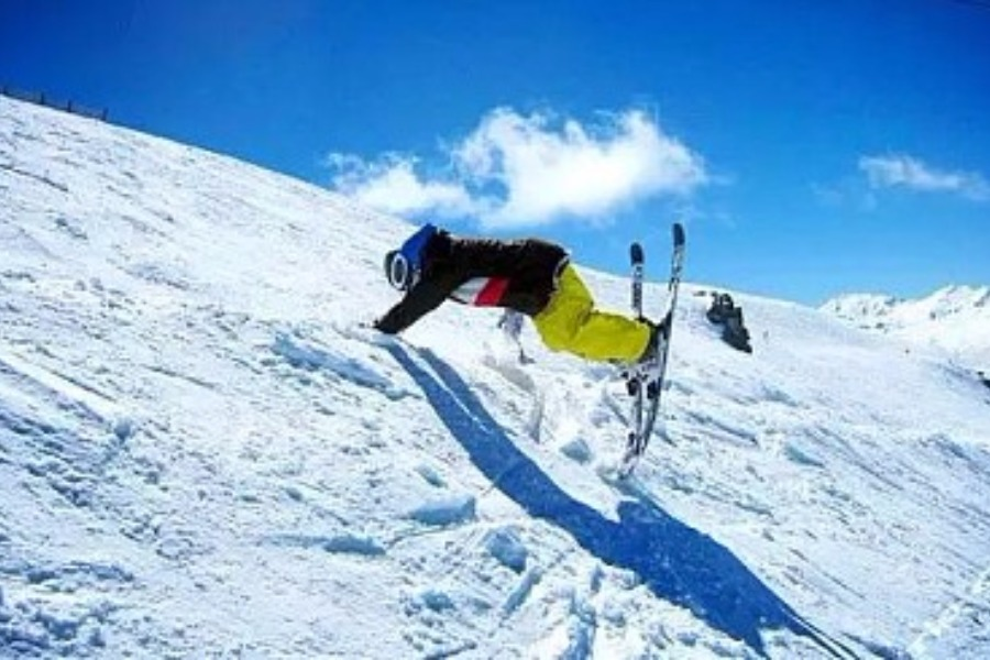 149元,唐山玉龙湾滑雪场不限时滑雪