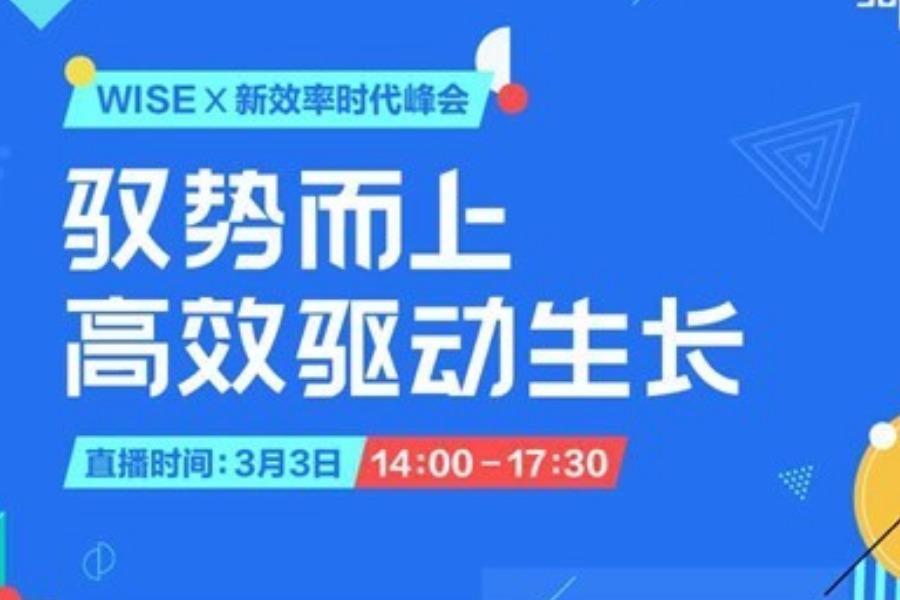 WISEx新效率时代峰会
