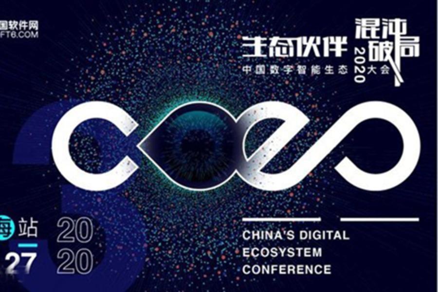 CDEC2020中国数字智能生态大会暨第十三届中国软件渠道大会 上海站