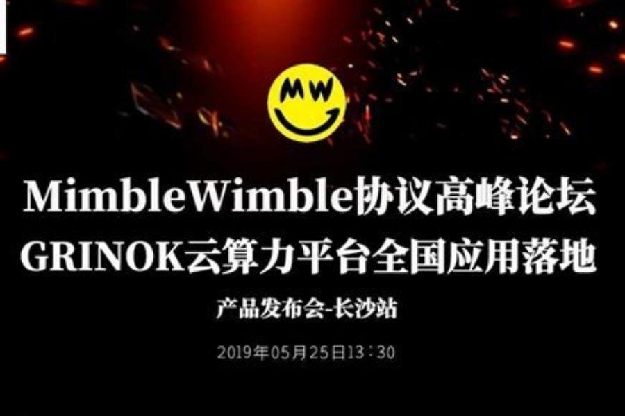 """2019区块链技术""""MimbleWimble 协议""""成果共享高峰论坛-长沙站"""
