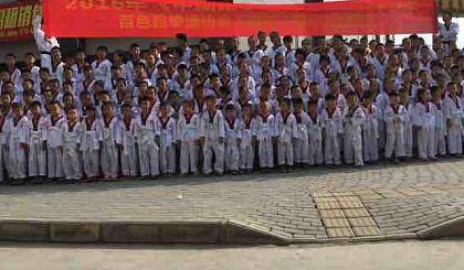 中国聚龙会靖西精英跆拳道素质教育暑期开始报名了!!!