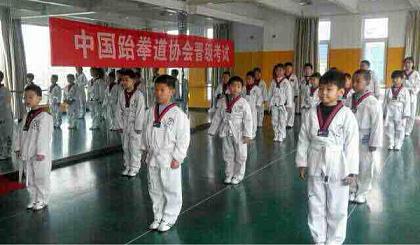 黃河少儿艺术团跆拳道免费学
