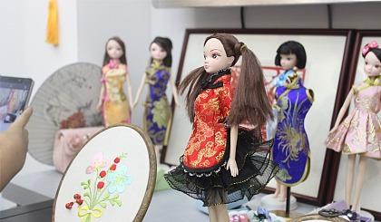 仟佰度少儿手工娃娃旗袍免费体验课程