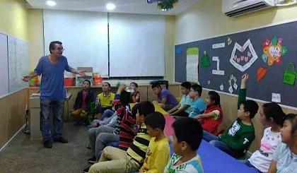 美国外教《英语兴趣提高班》推广活动