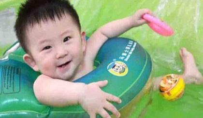 宝宝免费游泳洗澡啦!