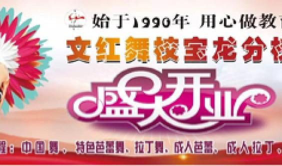 文红国际舞蹈艺术中心7月9日上午十点开业庆典欢迎您!