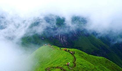 7月8日-7月9日最美武功山徒步,观高山草甸、云海日出~