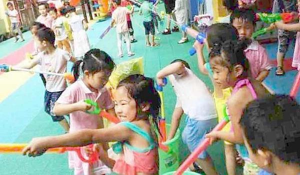 艾贝幼儿园·水枪大战夏日狂欢