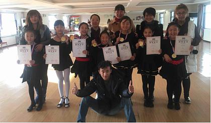 千姿卓舞蹈培训学校拉丁舞双十一特惠班只需11元可享一个月8节课程 !